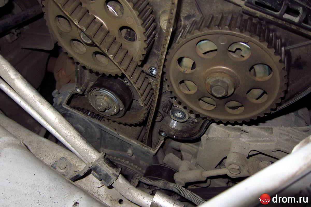 гнет ли клапана на двигателе audi 2.0 cvt