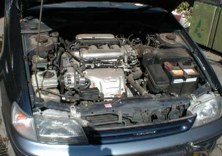 сначала помыть двигатель,