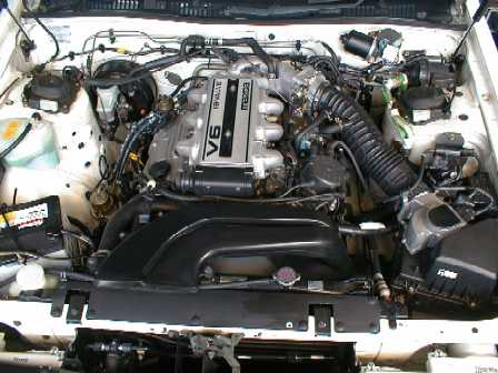 замена двигателя на mazda luce