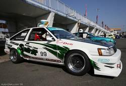 Автомобиль Toyota Corolla Levin АЕ86 мастерской «Techno Pro» под названием Spirit был одним из самых запоминающихся автомобилей в традиционном для этих соревнований противостоянии между Хатироку и Сивиками.