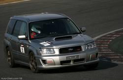 Среди участников был также замечен Subaru Forester. Его время на круг превысило 1 минуту и 5 секунд.