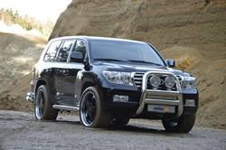 Toyota Land Cruiser 200 в тюнинге от delta4x4.