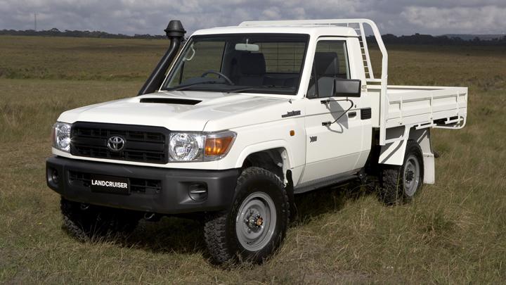 Toyota Land Cruiser 70.