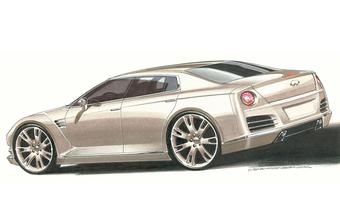 � 2011 ���� ����� ���� ������� ����� ������� ������� Infiniti, ����������� �� ���� ��������� Nissan GT-R.