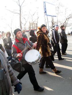 Акция протеста во Владивостоке. Фото: the-right.org