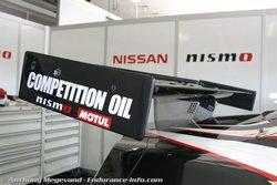 Антикрыло FIA GT1 Nissan GT-R.