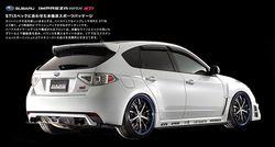 Subaru Impreza WRX STI в тюнинге от DAMD