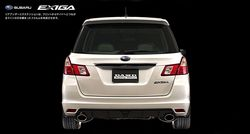 Subaru Exiga в тюнинге от DAMD