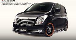Suzuki Wagon R в тюнинге от DAMD