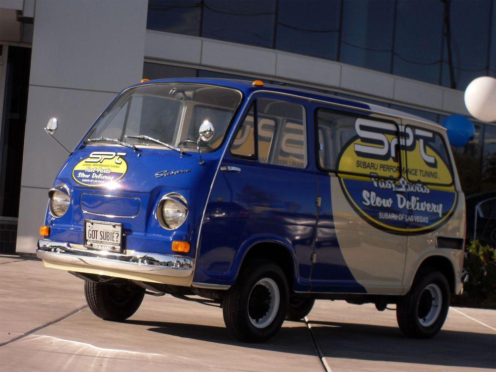 Subaru SPT Parts Delivery Van