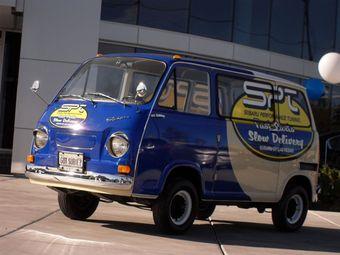 Subaru SPT Parts Delivery Van 1969 года выпуска будет представлять японский бренд на тюнинг-шоу SEMA.