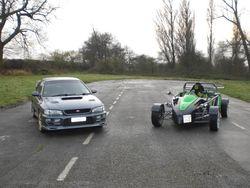 WR3 V-Storm и Subaru Impreza WRX