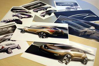Nissan открывает пятый дизайнерский центр.