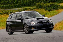 Subaru Impreza WRX  2010 в кузове хэтчбэк (старый вариант)