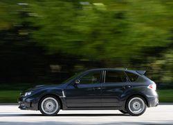 Нынешний вариант  Subaru Impreza WRX STI. Кузов — хэтчбек.