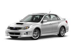 Более скромный  вариант модели — седан Subaru Impreza WRX в обновленном более широком  кузове