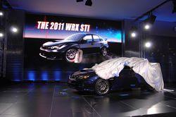 Subaru Impreza WRX  STI в кузове седан на моторшоу в Нью-Йорке