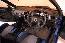 Subaru Impreza P1,  интерьер, 199 год
