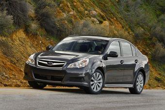 Новое поколение Subaru Legacy отзывают в США.