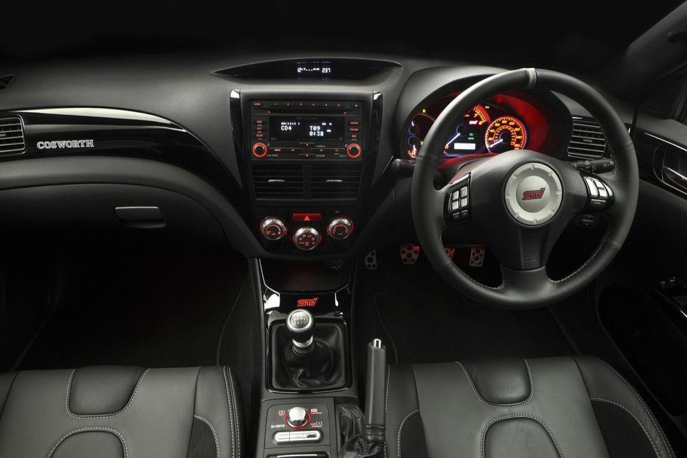 Сделана самая мощная Subaru Impreza COSWORTH.