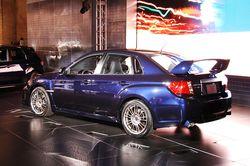 Subaru Impreza WRX  STI седан, на выставке в Нью-Йорке