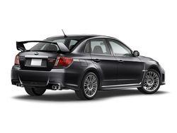 Subaru Impreza WRX  STI седан, экстерьер