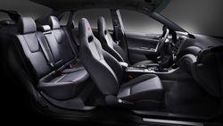 Subaru Impreza WRX  STI седан, интерьер
