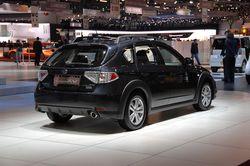 Subaru Impreza XV  на выставке в Женеве