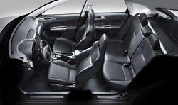Subaru Impreza XV,  интерьер
