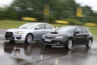 Evolution и WRX обзаведутся дизельными моторами..
