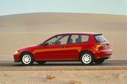 Honda Civic HB VX, 5,4 литра на 100 км