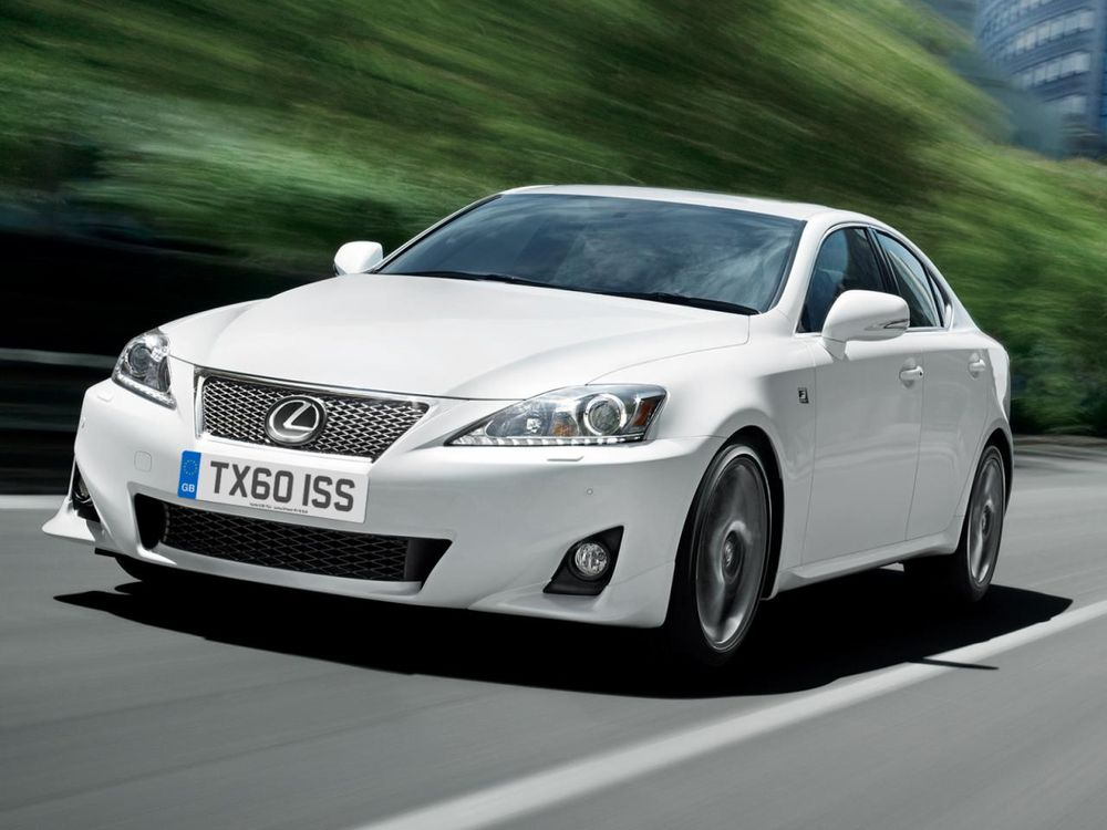 Фото Новый 2011 Lexus IS.