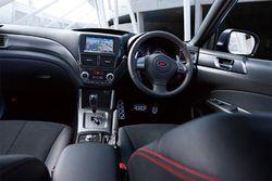 Subaru Forester tS. Салон