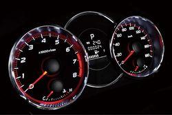 Subaru Forester tS. Приборная панель