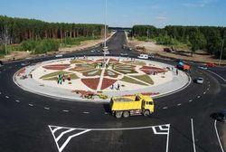 Начата сдача объектов строящегося моста через Волгу.  3 июля 2009 года в эксплуатацию вводится кольцевая развязка у...