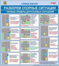 Схемы типовых допускаемых нарушений и их квалификация с 21 ноября 2010 года