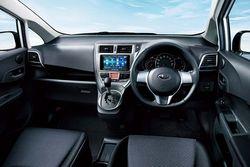 Subaru Trezia. Интерьер, иллюстрация