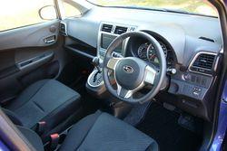 Subaru Trezia. Интерьер, фотосъемка