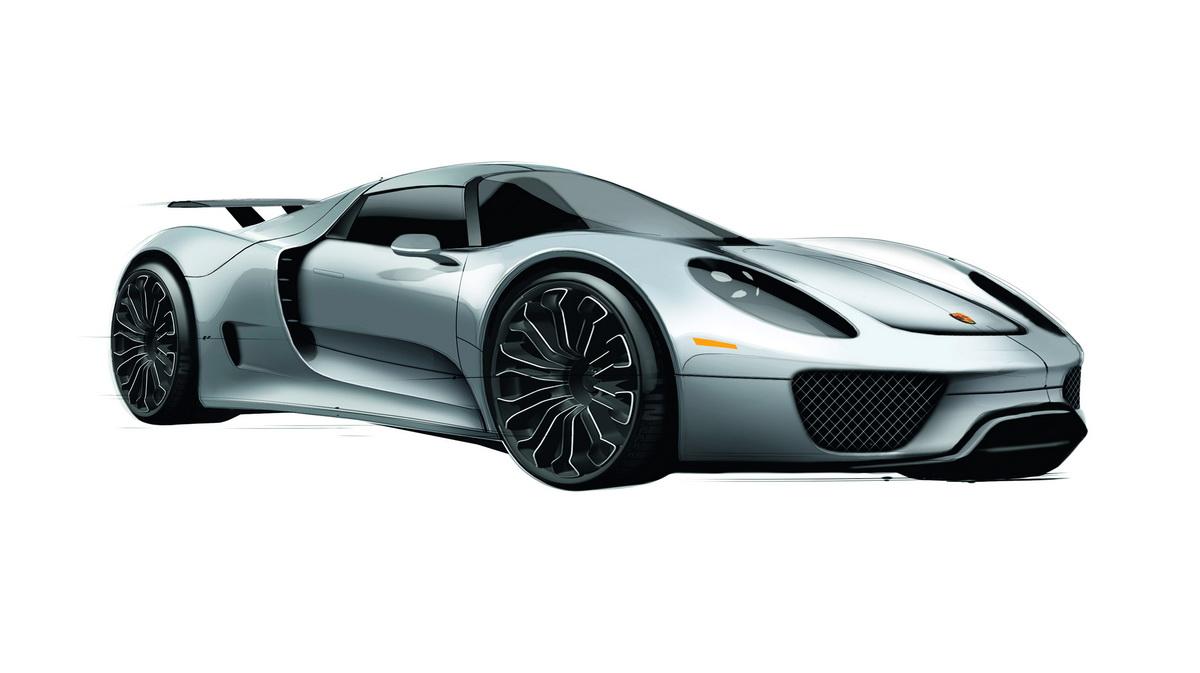 Porsche 918 Spyder Автомобили Об…