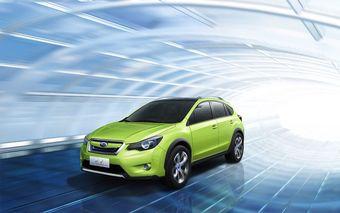 Subaru Concept XV дебютировал в Шанхае.
