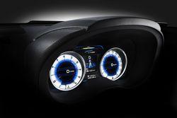 Subaru Concept XV - приборная панель.