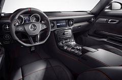 Интерьер Mercedes-Benz SLS AMG GT