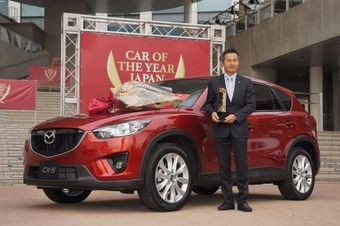 Mazda CX-5 названа «Автомобилем года» в Японии