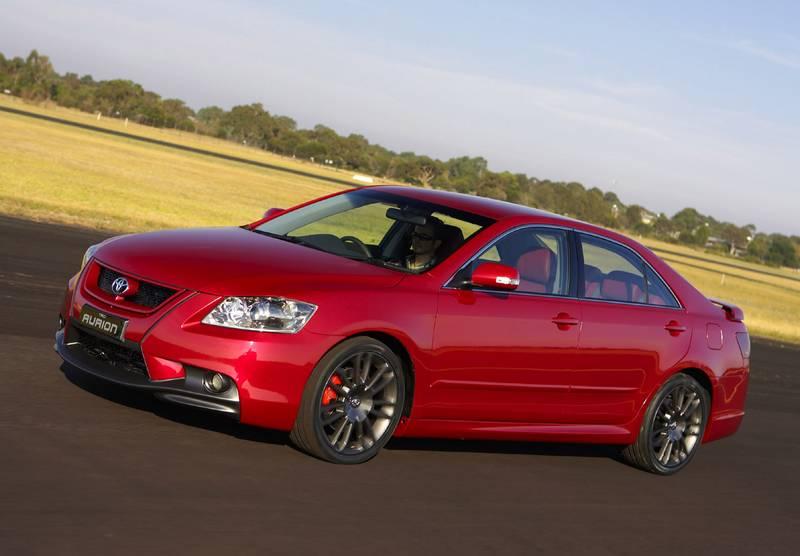 Замечательный автомобиль Тойота Аурион (Toyota Aurion) был разработан и выпущен специально для жителей Австралии.