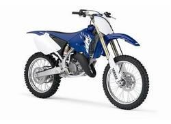 Прошлогодний двухтактный Yamaha YZ125F отличается от модели 2008 года незначительно