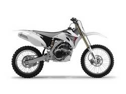 YZ250F White Limited Edition