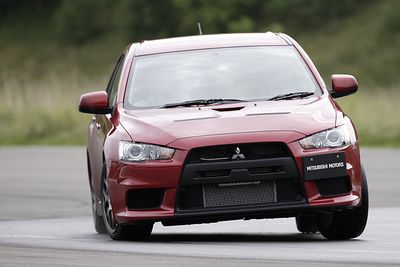 Mitsubishi Lancer Evolution X GSR.