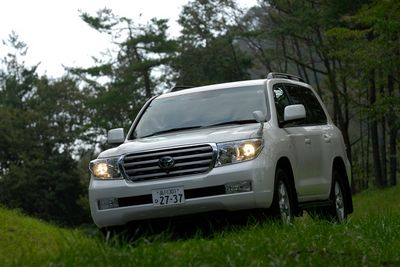 Toyota Land Cruiser AX G selection.
