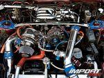 Двигательный отсек Mazda RX-7.