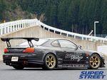 Sunline R Nissan Silvia SPL. Вид сзади на правую часть.